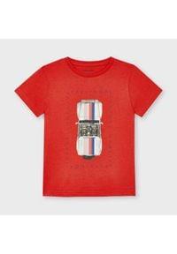Mayoral T-Shirt 3039 Czerwony Regular Fit. Kolor: czerwony