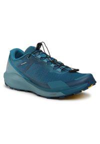 Niebieskie buty do biegania salomon