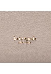 Szara shopperka Kate Spade skórzana