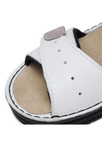 Białe sandały Berkemann