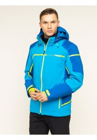 Niebieska kurtka sportowa Spyder narciarska