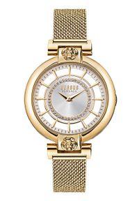 Versus Versace - Zegarek VSP1H0621. Kolor: złoty. Materiał: materiał