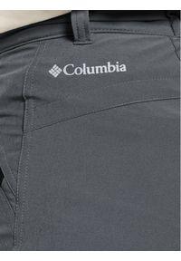 Szare spodnie trekkingowe columbia outdoorowe