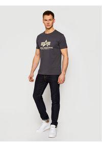 Alpha Industries T-Shirt Basic 100501 Szary Regular Fit. Kolor: szary #2
