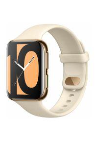 Złoty zegarek OPPO elegancki, smartwatch