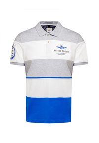 Koszulka polo Aeronautica Militare polo, w prążki