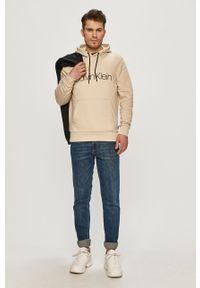 Bluza nierozpinana Calvin Klein na co dzień, z kapturem