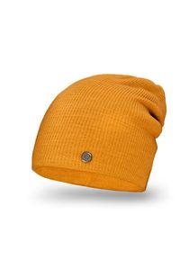 Pomarańczowa czapka PaMaMi na jesień, sportowa