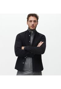 Reserved - Koszula super slim fit - Czarny. Kolor: czarny