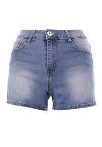 Born2be - Niebieskie Szorty Lisaia. Kolor: niebieski. Materiał: jeans. Sezon: lato. Styl: klasyczny