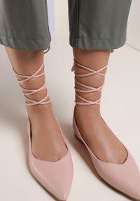 Różowe sandały Renee