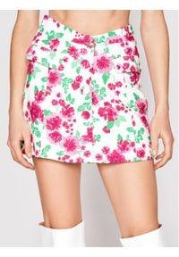 For Love & Lemons Spódnica mini Janelle CBS1721 Biały Slim Fit. Kolor: biały