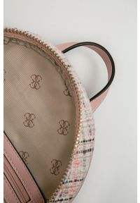 Guess - Plecak. Kolor: różowy