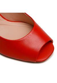Czerwone sandały Loretta Vitale