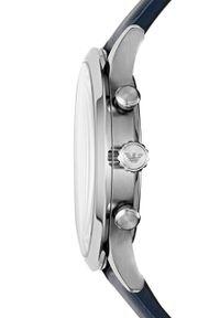 Niebieski zegarek Armani Exchange