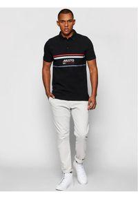 Musto Polo Amalfi 82017 Czarny Regular Fit. Typ kołnierza: polo. Kolor: czarny #4
