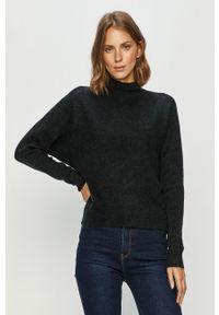 Niebieski sweter only długi, z długim rękawem, na co dzień, casualowy