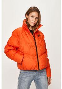 Pomarańczowa kurtka Nike Sportswear bez kaptura, raglanowy rękaw