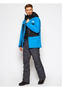 Niebieska kurtka sportowa The North Face narciarska