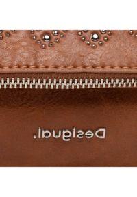 Desigual Torebka 21SAXPA9 Brązowy. Kolor: brązowy