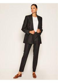 Szare spodnie materiałowe Victoria Victoria Beckham