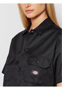 Dickies Koszula Ss Work DK0A4XE1BLK Czarny Regular Fit. Kolor: czarny