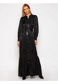 Czarna sukienka Michael Kors koszulowa