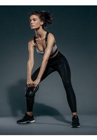 Legginsy sportowe 4f z podwyższonym stanem, na fitness i siłownię