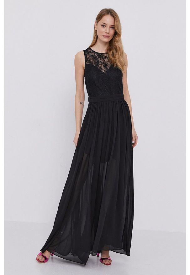 Morgan - Sukienka. Kolor: czarny. Typ sukienki: rozkloszowane