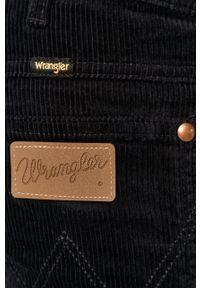 Niebieskie spodnie Wrangler na co dzień, casualowe