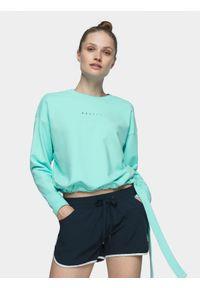 Bluza bez kaptura 4f casualowa, na co dzień, krótka