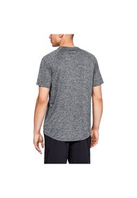 Koszulka Under Armour M 1326413. Kolor: szary. Materiał: materiał, poliester, skóra. Sport: fitness