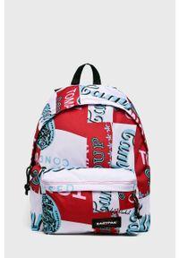 Czerwony plecak Eastpak w paski