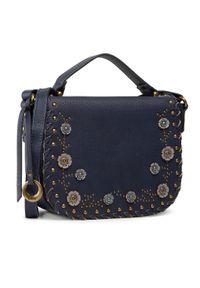 Niebieska torebka klasyczna Gabor skórzana