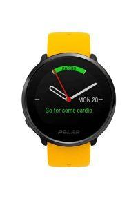 Żółty zegarek POLAR sportowy