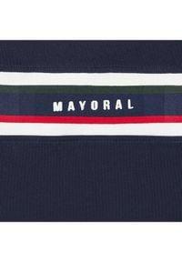 Mayoral Bluzka 2046 Granatowy Regular Fit. Kolor: niebieski