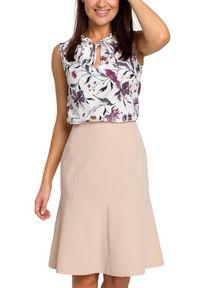 Style - Elegancka spódnica z lekko rozkloszowanym dołem. Styl: elegancki