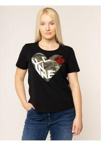 Czarny t-shirt Persona by Marina Rinaldi