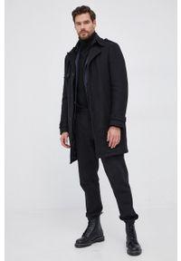Drykorn - Spodnie Jodd. Kolor: czarny. Materiał: dzianina