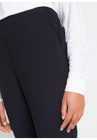 Czarne spodnie bonprix długie