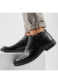 Czarne buty zimowe Imac z cholewką, na co dzień, casualowe
