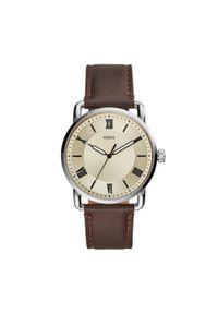 Brązowy zegarek Fossil vintage