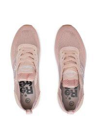 Refresh - Sneakersy REFRESH - 72909 Nude. Okazja: na co dzień, na spacer. Kolor: różowy. Materiał: skóra ekologiczna, materiał. Szerokość cholewki: normalna. Sezon: lato. Styl: casual