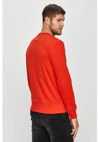 GAP - Bluza. Okazja: na co dzień. Kolor: czerwony. Wzór: aplikacja. Styl: casual