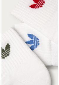 Białe skarpetki adidas Originals
