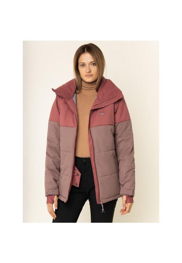 Różowa kurtka narciarska Billabong