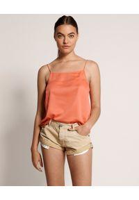 ONETEASPOON - Spodenki Tropical Bandits. Stan: obniżony. Kolor: beżowy. Materiał: jeans. Wzór: aplikacja #2