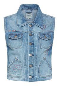 Niebieska kamizelka Pepe Jeans