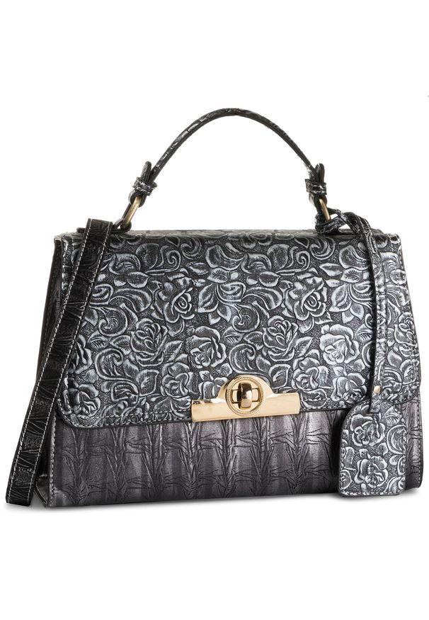 Srebrna torebka klasyczna Laura Vita klasyczna