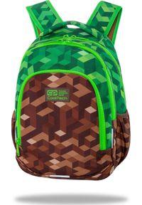 Patio Plecak szkolny Prime - City Jungle brązowy (C25199). Kolor: brązowy